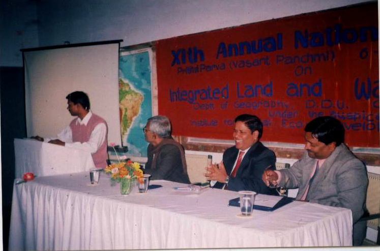 Prof. S.B. Singh, Dr. Mahendra Singh and Dr. D.K. Gupta, during technical session