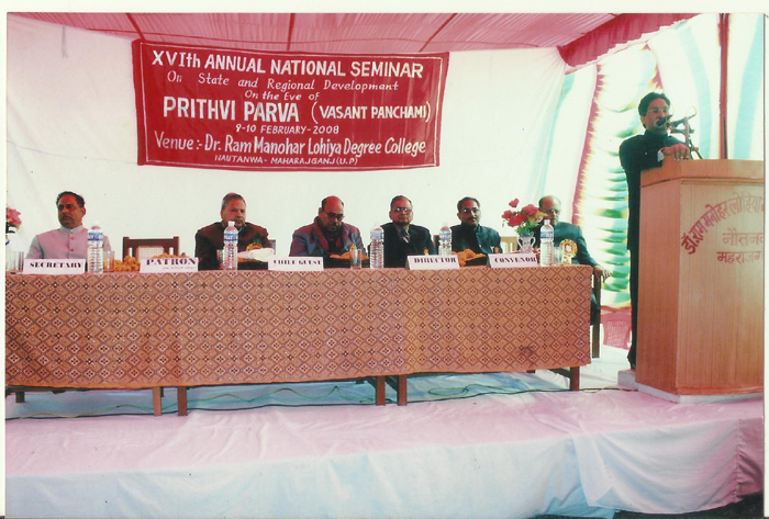 Mr. Mithilesh Singh, Addressing Participants