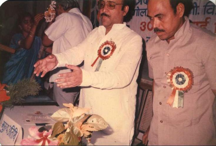 Shri. Pawan Bathwal, inaugrating First Seminar with Prof. Jagdish Singh