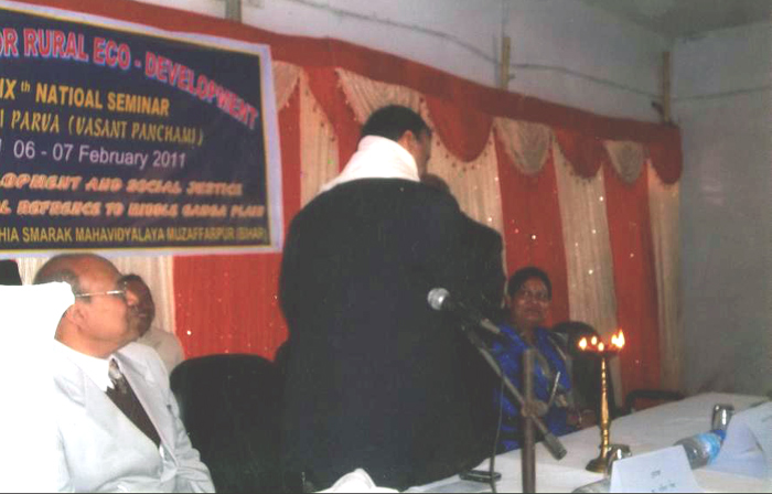 Inaugural function of 19th Prithvi Parva at Lohiya College, Muzaffarpur